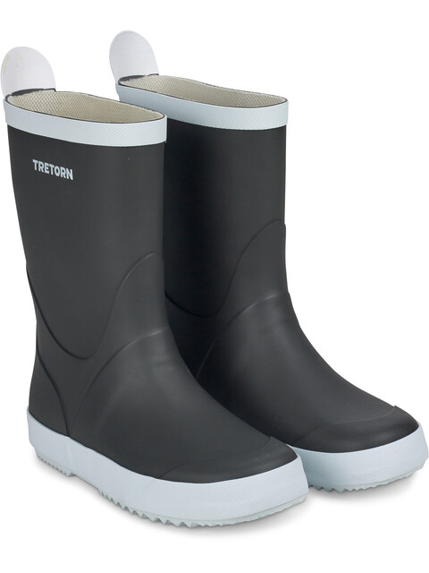 Tretorn Unisex Wings Rubber Boots Black